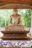 Statua di Samadhi Buddha a Anuradhapura, Sri Lanka Fotografie Stock Libere da Diritti