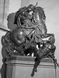 Statua di San Martino - di Bratislava vicino in DOM Fotografia Stock