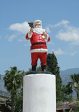 Statua di San Nicola. fotografia stock