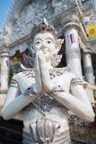 Statua di Sawasdee Fotografie Stock
