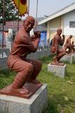 Statua di Shaolin Temple immagine stock libera da diritti