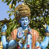 Statua di Shiva, idolo indù in Bali, Indonesia Fotografia Stock