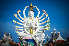 Statua di Shiva su KOH Samui Fotografia Stock Libera da Diritti