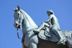 Statua di signora Godiva, Coventry fotografia stock libera da diritti