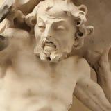 Statua di Sisyphus Fotografia Stock