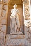 Statua di Sofia in Ephesus Fotografia Stock