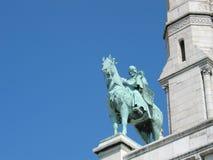 Statua di St. Louis Fotografia Stock