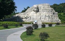 Statua di Sun Yat-sen al parco Shenzhen di Zhongshan Immagine Stock Libera da Diritti