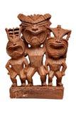 Statua di Tiki Fotografia Stock
