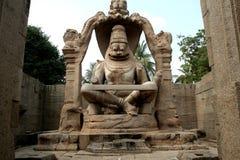 Statua di Ugranarasimha Fotografie Stock