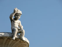 Statua di un bambino Fotografia Stock Libera da Diritti