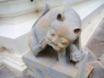 Statua di un gatto immagine stock libera da diritti