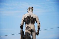 Statua di un gigante Fotografia Stock