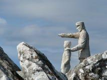 Statua di un guardia forestale Fotografie Stock