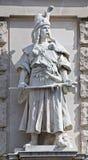 Statua di un principe dello slavo Fotografia Stock Libera da Diritti