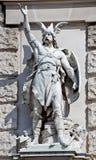 Statua di un Teuton Immagini Stock Libere da Diritti