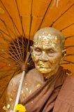 Statua di un uomo anziano Immagine Stock Libera da Diritti