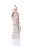 Statua di una dea greca Athena Immagine Stock Libera da Diritti