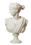 Statua di una donna nello stile antico Fotografia Stock Libera da Diritti