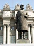 Statua di una guida sovietica Fotografia Stock Libera da Diritti
