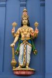 Statua di Vishnu su tem indù Fotografia Stock Libera da Diritti