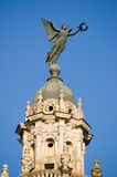 Statua di vittoria Nike, Avana Gran Teatro, Cuba Fotografia Stock