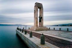 Statua di Vittorio Emanuele. Fotografia Stock