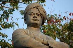 Statua di Vivekananda dello Swami, Mumbai Fotografia Stock