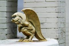 Statua diabolica Fotografia Stock