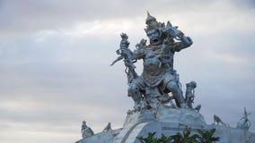 Statua Dio in tempio Bali, Indonesia di Pura Uluwatu fotografia stock libera da diritti