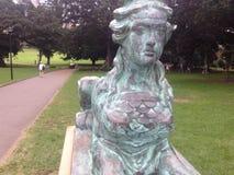 Statua domena Zdjęcie Royalty Free
