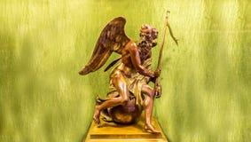 Statua dorata Immagine Stock