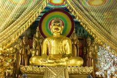 Statua dorata di Buddha - Cambogia, Asia Fotografia Stock Libera da Diritti