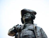 Statua dramatopisarz Carlo Goldoni w Wenecja W?ochy wielki W?oski librettist i obrazy royalty free