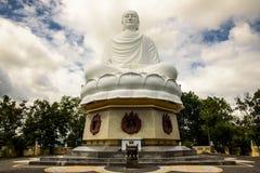 Statua Duży Buddha w Długiej syn pagodzie fotografia royalty free