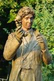 Statua durante il festival internazionale delle statue viventi Fotografie Stock