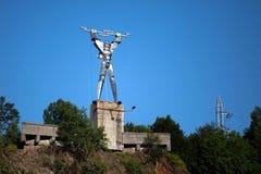 Statua elektryczność Obrazy Royalty Free