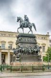 Statua equestre di Frederick le grande Fotografie Stock