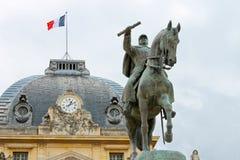 Statua equestre di Marechal Joffre Fotografia Stock Libera da Diritti