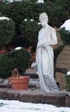 Statua esterna della casa immagini stock libere da diritti