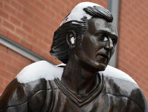 Statua facet Lafleur Zdjęcia Royalty Free