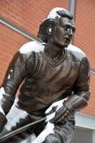 Statua facet Lafleur Zdjęcie Stock