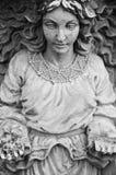Statua femminile immagini stock