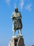 Statua Flavio Gioia di Amalfi Fotografia Stock