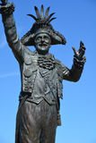 Statua Frank James Ney obrazy stock