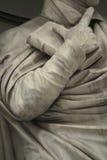 Statua fuori del Uffizi, Firenze, Italia immagine stock