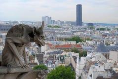 Statua Gargulece. Obraz Royalty Free