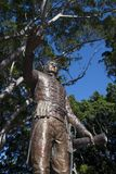 Statua generał dywizji Lachlan Macquarie, CB kwinta gubernator Nowe południowe walie w Hyde parku Obrazy Royalty Free