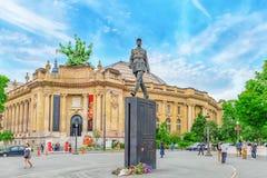 Statua generał De Gaulle Fotografia Stock