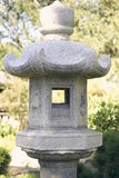 Statua giapponese del giardino Fotografia Stock Libera da Diritti